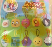 Mcdonalds Toy Adventure Time Cartoon Network Characters New 2017 Happy Meal