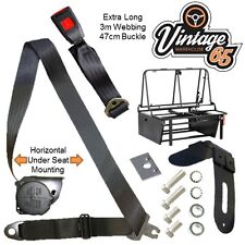 Vintage Warehouse 65 Vw Camper T1 T2 T3 T4 T5 Rock & Roll Bed Seat Belt Kit
