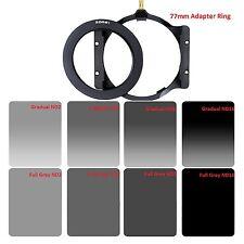 100mm Square Neutral Density Filter Kit Nd24816 Holder 77mm Ring for Cokin Z
