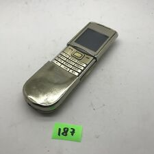 Nokia Sirocco 8800 - Gold (Unlocked) Cellular Phone AJ187