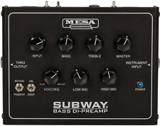 NEW! Mesa Boogie Subway Bass DI-Preamp