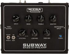 NEW! Mesa Boogie Subway Bass DI-Preamp