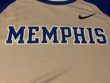 Nike Team Issued Memphis Tigers Warmup Shooters Shirt, Mens Large Sublimated Nwt