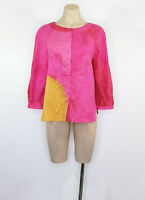 PIAZZA SEMPIONE Blouse Top Shirt Made In Italy Size IT44 (12 UK)