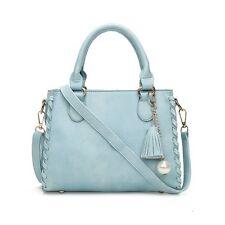 Women's Leather Handbag Shoulder Hobo Crossbody Bag Tote Messenger Satchel Purse