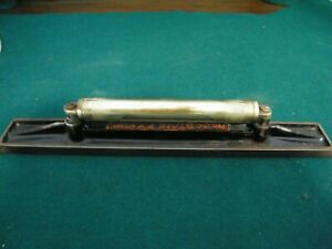VINTAGE STANLEY No. 34V - 10 INCH  MACHINIST / ENGINEERS LEVEL MADE IN USA