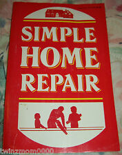 Simple Home Repair 1986 Home Library Paperback Home Improvement DIY