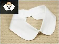 False White Peter Pan Cotton Collar Faux Decorative Detachable Removable