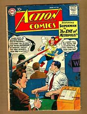 "Action Comics 250 (Q) DC 1959 SUPERMAN ""Eye of Metropolis"" Silver Age (c#08222)"