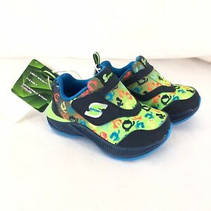 S Sport Skechers Toddler Boys Andrez Athletic Shoes Sneakers Monsters Green 5