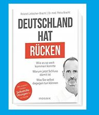 DEUTSCHLAND HAT R�œCKEN. Roland Liebscher-Bracht. NEU!