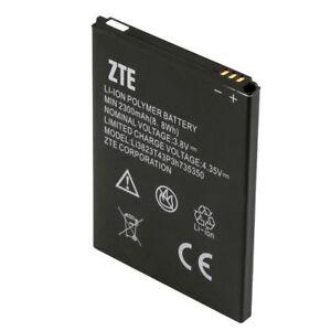 ZTE OEM Li-ion Polymer Battery 3.8V Min 2300mAh 8.8Wh Li3823T43P3H735350 Hotspot