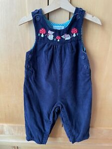 jojo maman bebe, 12-18 mths, mouse dungarees, used but very good condition