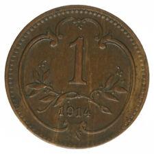 Österreich, Kaiser Franz Joseph I., 1 Heller 1914, A25958