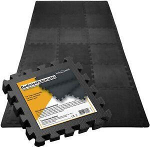 54x Tapis mousse de sol ensemble tapis puzzle fitness protection gym EVA 30x30cm