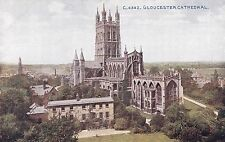 Gloucestershire Postcard - Gloucester Cathedral    DR350