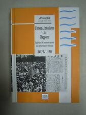 L' internazionalismo in Giappone. 1897-1930. Pantarei 2013