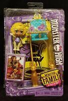 Monster High Monster Family of Cleo De Nile Sandy De Nile Doll - NEW - FREE SHIP