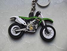 Kawasaki KX Kxf 250 125 450 500 Motocross Moto-X Schlüsselanhänger Gummi