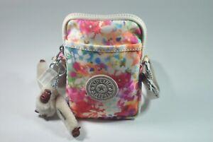 New With Tag Kipling TALLY Mini Crossbody Phone Bag KI1079 9AQ  - Garden Happy