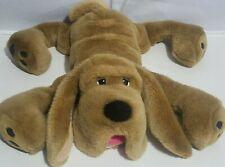 "Aurora Plush Floppy Dog Bloodhound Stuffed Animal Light Brown Soft 27"""