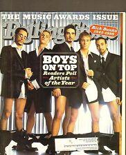 #832 JAN 20 2000 ROLLING STONE vintage music magazine -- BOYS ON TOP