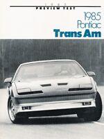 1984 PONTIAC FIREBIRD FORMULA TRANS-AM WIRING DIAGRAMS SCHEMATICS ...  statelegals.staradvertiser.com