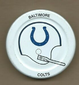 Baltimore Colts  Gatorade Bottle Cap Lid Early 1970s NFL Football Helmet