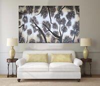 Tree's Of Heaven  140cm  original Art Oil Painting Large aboriginal  Landscape
