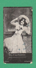 A. BAKER & CO. LTD. - VERY RARE ACTRESSES ' HAGG ' CARD - MISS  ARUNDALE  - 1900