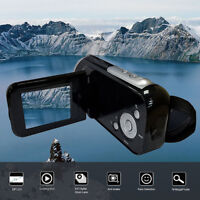 "Video Camcorder HD 1080P Handheld Digital Camera 4x Digital Zoom 2.0"" CA"