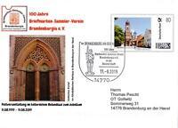 """BRD: 11.08.2019, """"100 Jahre Brandenburgia e. V."""", Plusbrief, SSt., gelaufen"""