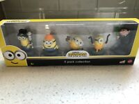Minions The Rise Of Gru Collector 5 Pack Collection Brand New Figures Mattel