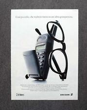 [GCG] K295- Advertising Pubblicità -anni '90- ERICSSON GF 788