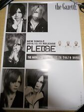 the GazettEthe PSC [PLEDGE] promoPOSTER Japan LIMITED!!