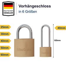 Vorhängeschloss Schloss Vorhangschloss groß & klein - 25 30 40 50 60 mm