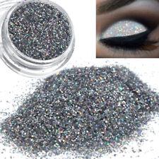 Fard à Paupières en Poudre Argenté Brillant Pigment de Maquillage 0.4MM 3G