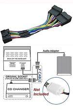 Para Subaru y cable para Kenwood 10+10 Pin conexión de CD Sistema De Audio
