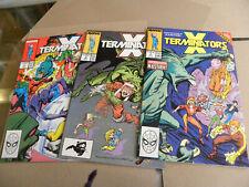 Marvel 1988 X-Men 1st 3 of 4 issues X-TERMINATORS 1 2 3 qq