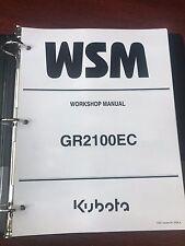 Kubota GR2100EC Lawn and Garden Tractor Service WorkShop Repair Manual