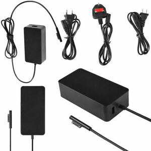 For Microsoft Surface Pro 5/Pro 4/Pro 3 Book 65W AC Charger USB Charging Adapter