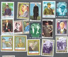 GENERAL DE GAULLE 50 toutes différentes collection