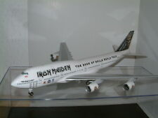 "1:200 BOEING 747-400 TF-AAK ""IRON MAIDEN"" BOOK OF SOULS WORLD TOUR, ED FORCE ONE"