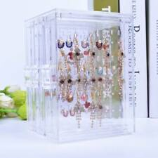 Acrylic Jewelry Storage Box Earring Display Stand Organizer Holder
