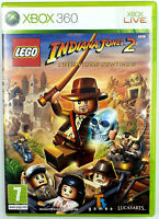 Lego Indiana Jones 2 l'aventure continue - Jeu Xbox 360 - PAL FR
