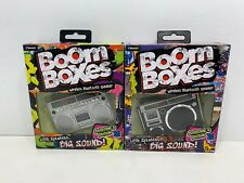 2 Boom Boxes Little Speakers Collector's Editions Models 69901 & 69902, NEW!