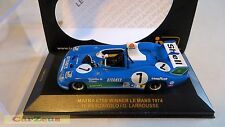 1:43 ixo, Matra 670B, #7, WINNER 24 hr Le Mans 1974, Pescarolo/Larrouse