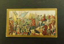 American Tobacco Company Cigarette Card c.1901 Battle Scenes Hohenfriedburg