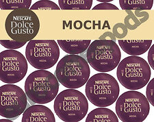 Dolce Gusto Mocha Pods 100 Capsules 50 Coffee / 50 Milk  Sold Loose