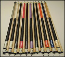 McDermott Pool Cue (15 ) Cues With Irish Linen Wraps(Buyer Gets Choice Of 1 Cue)